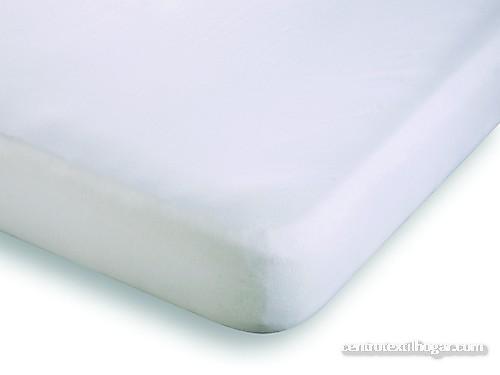 Belnou - Cubrecolchón ajustable impermeable 100% algodón Altea