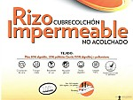 Cubrecolchón Mash Rizo Impermeable