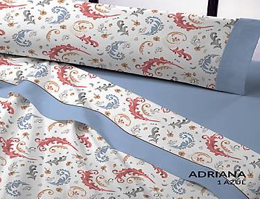 Catotex - Juego de cama franela D´Art Adriana