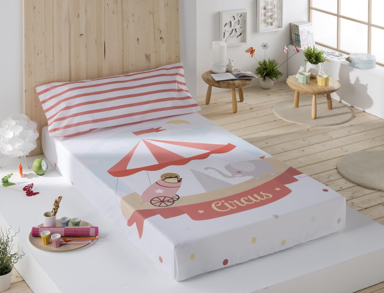 Sansa Juego de cama 100% Algodón Circo