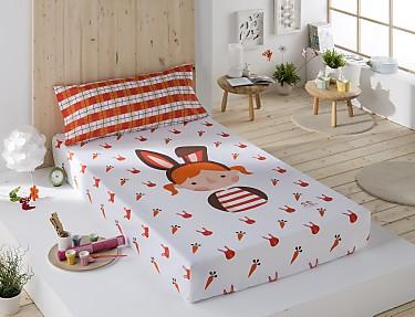 Sansa - Juego de cama 100% Algodón Valentina