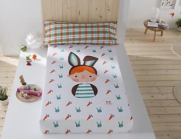 Sansa - Juego de cama 100% Algodón Ernest