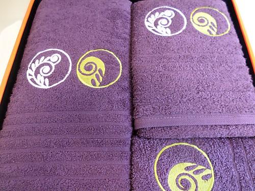 Nuestros Productos - Juego de toallas Bombay