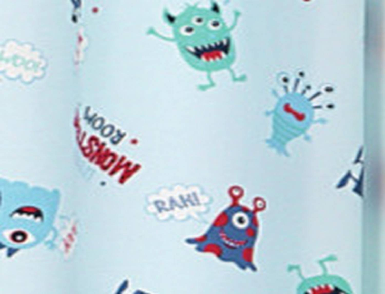 Cañete Cortina con ollaos Monsters B
