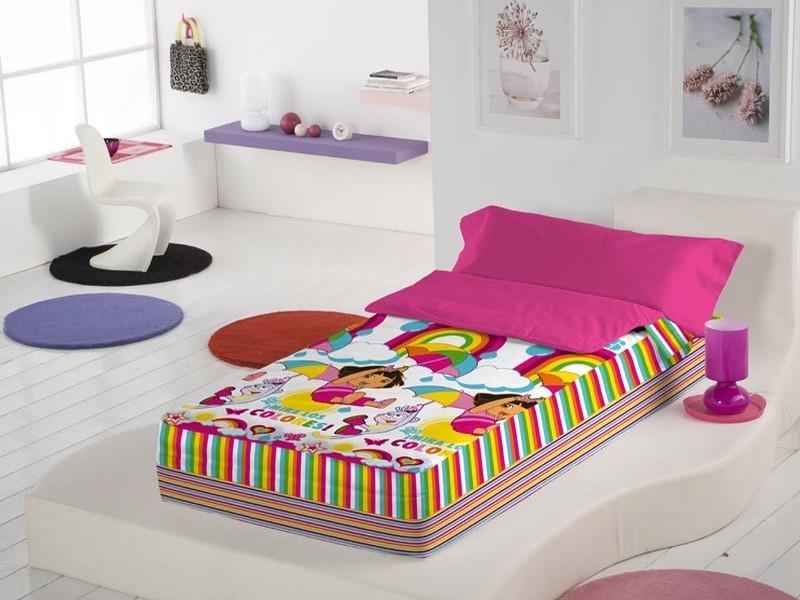 Euromoda Saco nórdico Dora Rainbow