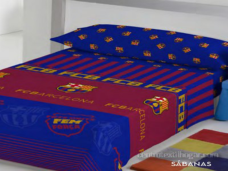 Euromoda - Juego de cama FC Barcelona
