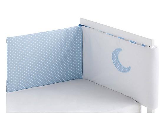 Pekebaby - Protector Cuna Chichonera Moon Azul