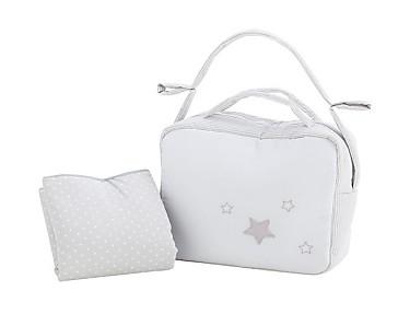 Pekebaby - Pack Bolso y cambiador de viaje (vestidor) Stella
