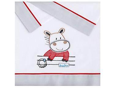 Pekebaby - Juego de Sábanas Franela Hippo
