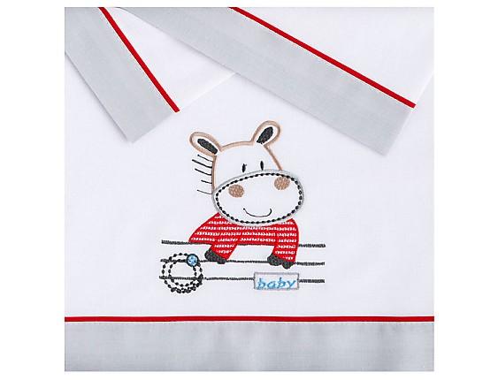 Pekebaby - Juego de Sábanas Hippo