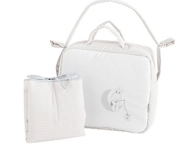 Pekebaby - Pack Bolso y cambiador de viaje (vestidor) Lune