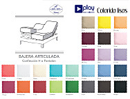 Bajera ajustable cama articulada Lisos Play Basic Collection