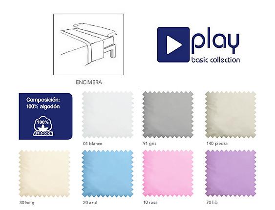 Cañete - Encimera Lisos 100% Algodón Play Basic Collection