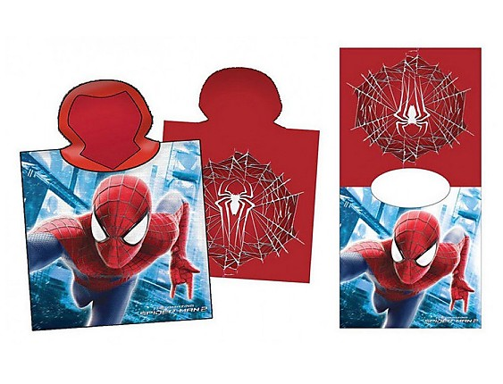 Nuestros Productos - Poncho Playa Spiderman