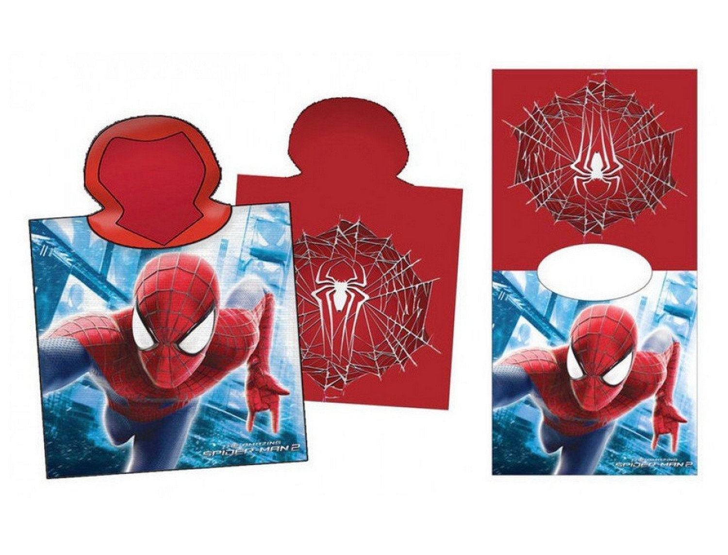 Nuestros Productos Poncho Playa Spiderman