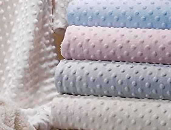 Nuestros Productos - Manta Bebé Gamberritos Topitos
