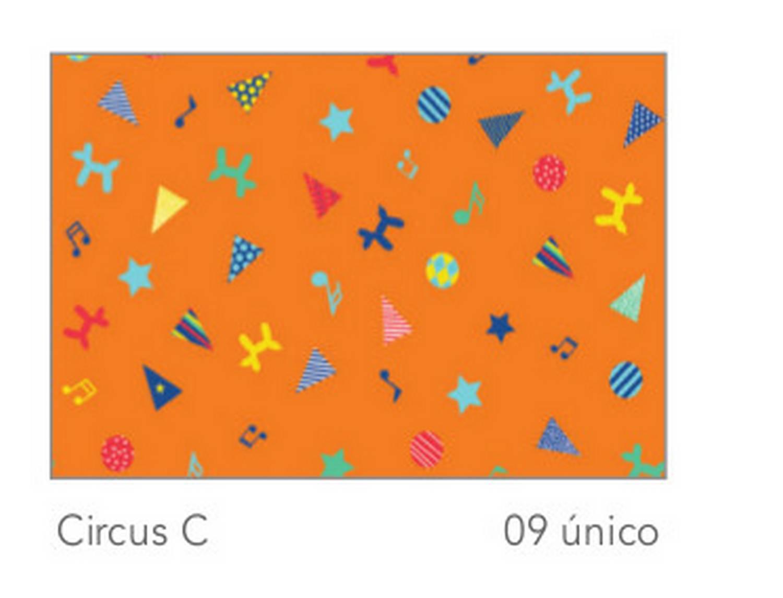 Cañete Cortina con ollaos Circus C