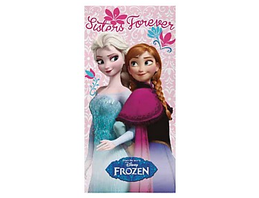 Textil Tarragó - Toalla de playa Frozen Sisters Forever
