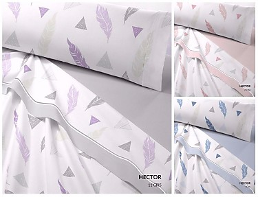 Catotex - Juego de cama de invierno térmica Hector