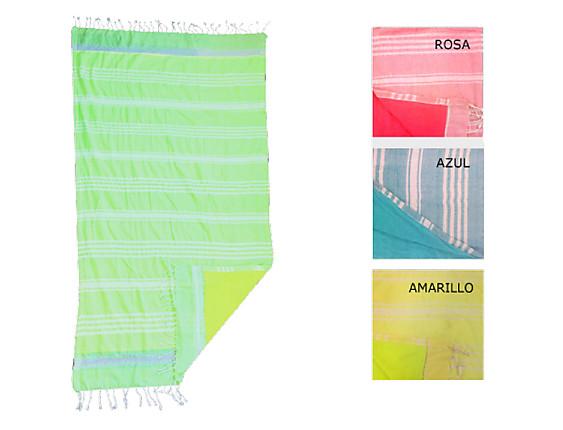 Textil Tarragó - Toalla Pareo Kikoy Flúor