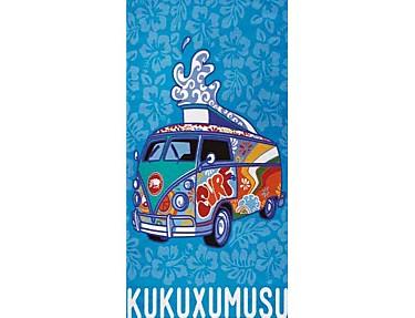 Textil Tarragó - Toalla de playa grande Kukuxumusu Furgosurf