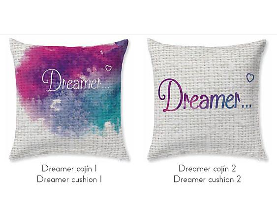 JVR - Cojín 100% algodón Dreamer