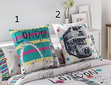 JVR - Cojín100% algodón London