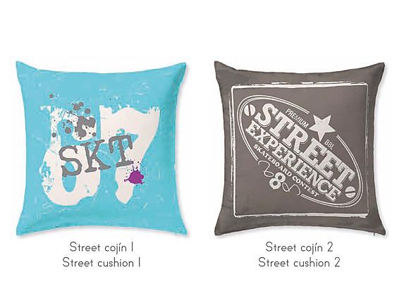 JVR - Cojín 100% algodón Street