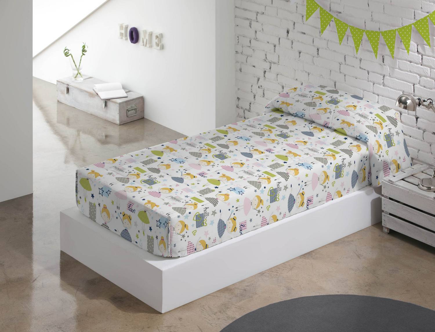 Barbadella Home Edredón Ajustable Fawn