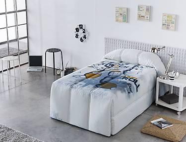 Sansa - Edredón Conforter 100% Algodón Robot