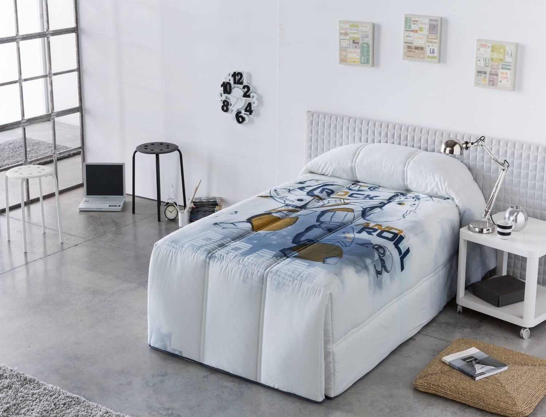 Sansa Edredón Conforter 100% Algodón Robot