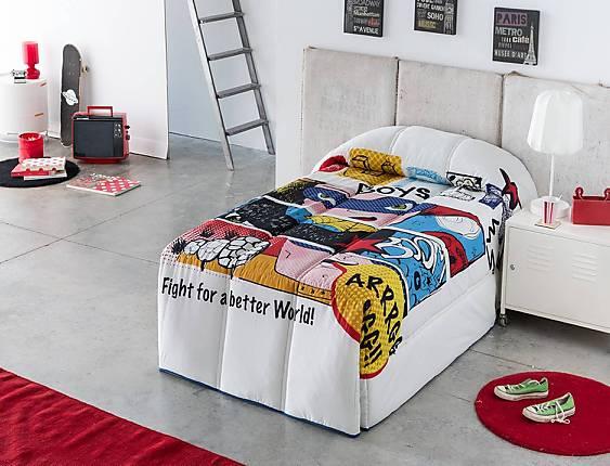 Sansa - Edredón Conforter 100% Algodón Comic