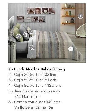 Cañete - Funda nórdica Jaquard Balma