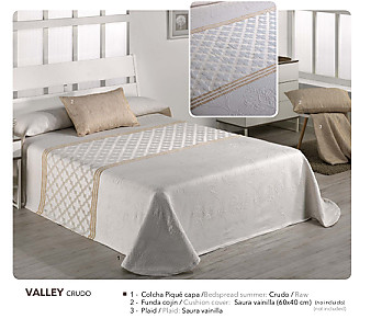 Barbadella Home - Colcha Capa Jacquard Valley