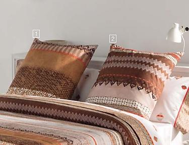 JVR - Cojín 100% algodón Inca