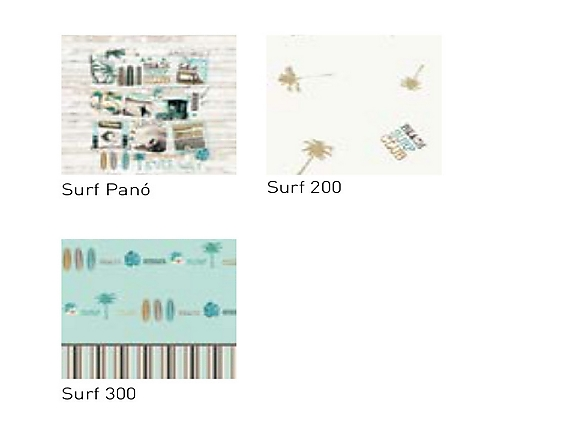 JVR - Tejidos coordinados Surf