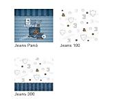 Tejidos coordinados Jeans