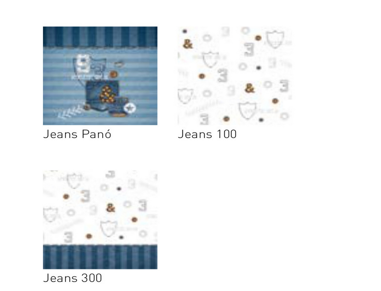 JVR Tejidos coordinados Jeans