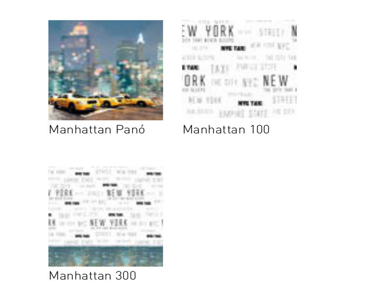 JVR Tejidos coordinados Manhattan
