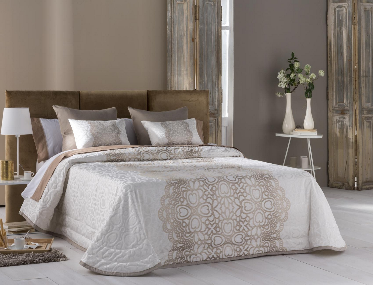 JVR Bouti Jacquard Chantilly
