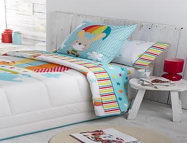 JVR - Juego de cama 100% algodón Globus