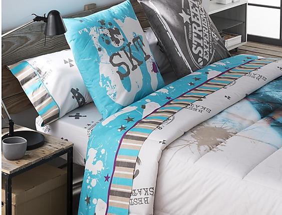 JVR - Juego de cama 100% algodón Street