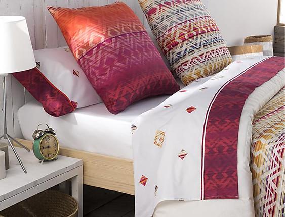 JVR - Juego de cama 100% algodón Kilim