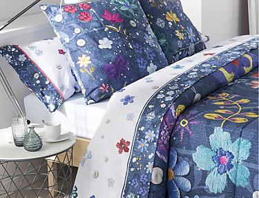 JVR - Juego de cama 100% algodón Folk