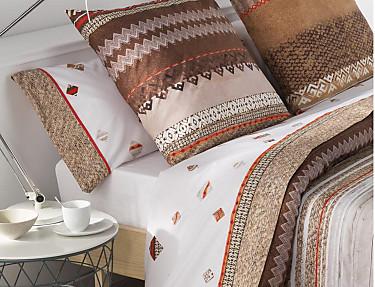 JVR - Juego de cama 100% algodón Inca