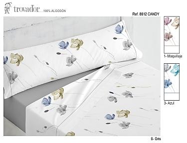 Trovador Juego de cama 100% Algodón Candy