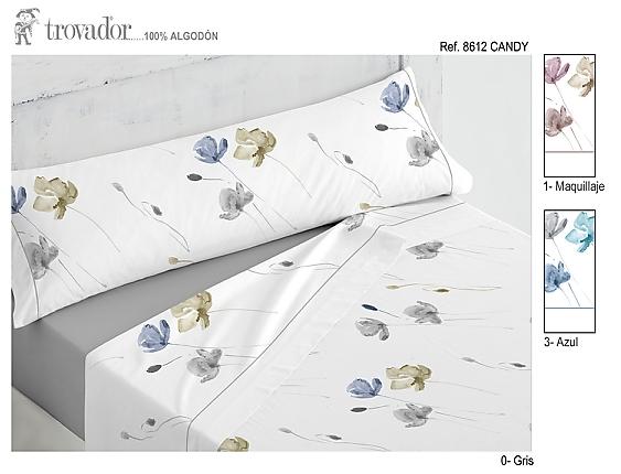 Trovador - Juego de cama 100% Algodón Candy