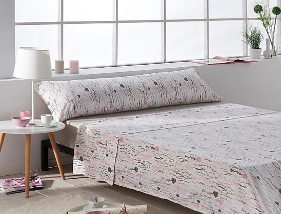 Sansa - Juego de cama 100% Algodón Lille