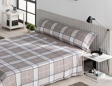 Sansa - Juego de cama 100% Algodón Madrás