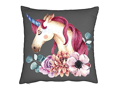 Denisa Home - Cojín unicornio Unicorn